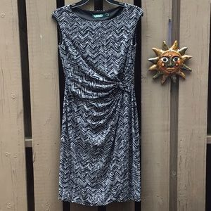 SALE! New LRL Silky Knotted Waist Dress
